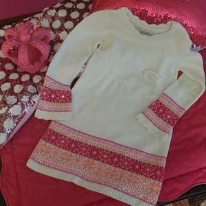 Little Girl's Sweater Dress
